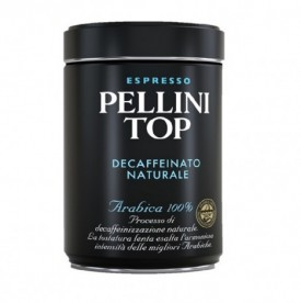 Кофе PELLINI TOP ARABICA 100% DECAFFEINATO